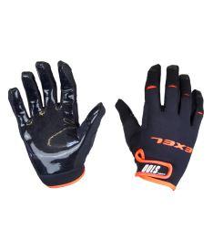 EXEL S100 GOALIE GLOVES SHORT black/orange
