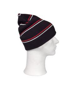 OXDOG JOY WINTER HAT black/red/white - L/XL - Kšiltovky a čepice