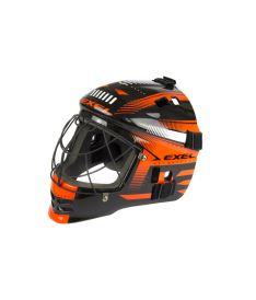 EXEL S60 HELMET junior black/orange - Brankářské masky