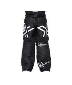 Brankářské florbalové kalhoty OXDOG XGUARD GOALIE PANTS JR black/white