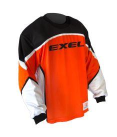 EXEL S100 GOALIE JERSEY orange/black - Brankářský dres