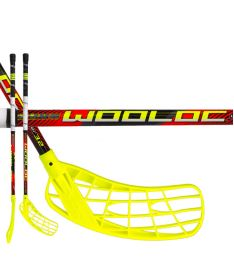 Florbalová hokejka WOOLOC WINNER 3.2 red 75 ROUND NB '16