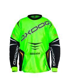 OXDOG GATE GOALIE SHIRT senior green/black - Brankářský dres