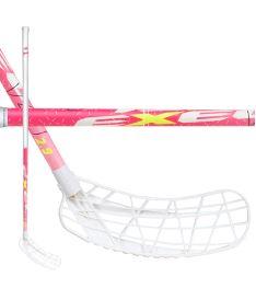 Florbalová hokejka EXEL V40i PINK 2.9 92 ROUND SB