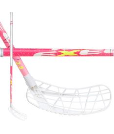 Florbalová hokejka EXEL V40i PINK 3.4 87 ROUND SB