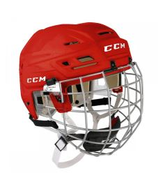Hokejová helma CCM TACKS 110 Combo SR red