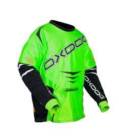Brankářský florbalový dres OXDOG GATE GOALIE SHIRT senior green/black