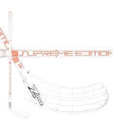 Florbalová hokejka ZONE STICK SUPREME Composite 29 white/coral 92cm