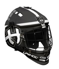 Brankářská florbalová maska UNIHOC GOALIE MASK SHIELD black/white