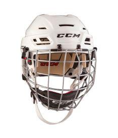 Hokejová helma CCM TACKS 110 Combo SR white