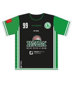 FREEZ JERSEY SUBLI MEN - FBŠ BOHEMIANS 19 - A - black/green
