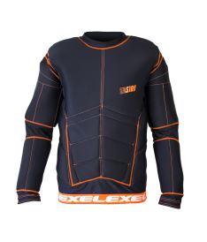 EXEL S100 PROTECTION SHIRT black/orange