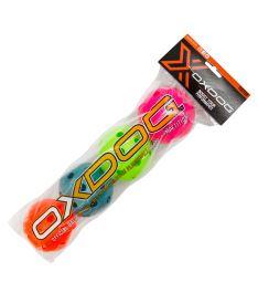 Sada florbalový míčků Oxdog ROTOR TUBE color