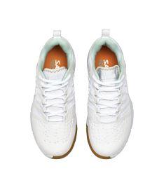 SALMING Kobra 3 Shoe Women White/PaleBlue 3,5 UK - Obuv