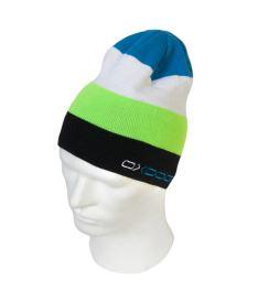 OXDOG JOY-2 WINTER HAT lime/blue L/XL - Kšiltovky a čepice