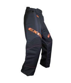 Brankářské florbalové kalhoty EXEL S60 GOALIE PANT junior black/orange