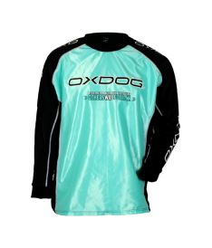 Brankářský florbalový dres OXDOG TOUR GOALIE SHIRT tiff blue 150/160