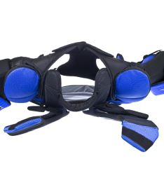 VAUGHN CHEST & ARMS VELOCITY V7 XR CARBON PRO blue/black senior - XXL - Vesty