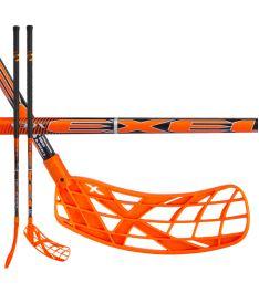 Florbalová hokejka EXEL V30x 2.9 orange 92 ROUND SB
