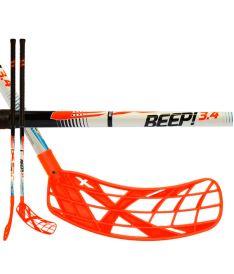Florbalová hokejka EXEL BEEP! 3.4 white 87 ROUND SB