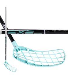 Florbalová hokejka EXEL PURE XIX BLACK 2.6 101 ROUND MB