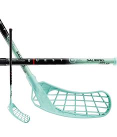 Florbalová hokejka SALMING Q2 Kid Black/Blue 67(78)