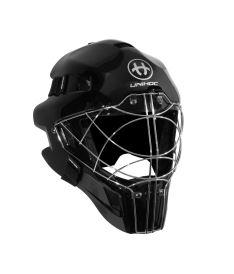 Brankářská florbalová maska UNIHOC GOALIE MASK OPTIMA 66 all black