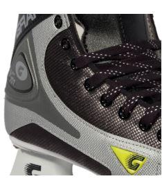 GRAF SKATES SUPER 101 black/silver - 43** - Brusle - komplety