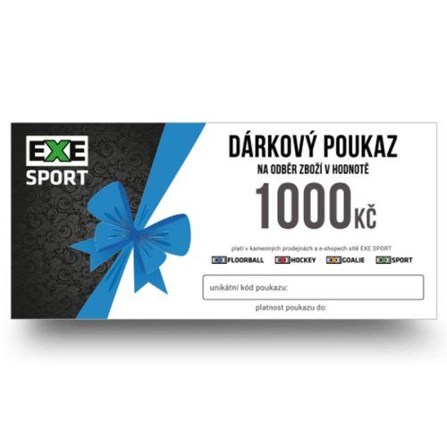Dárkový poukaz 1000kč - poštou, platba předem - Dárkové poukazy