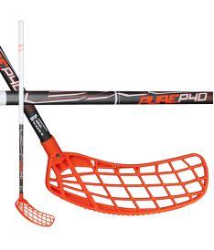 Florbalová hokejka EXEL P40 GREY 2.9 92 ROUND SB