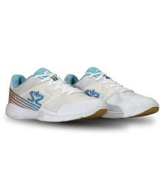 SALMING Viper 5 Shoe Men White/RaceBlue 13 UK - Obuv
