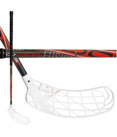Florbalová hokejka OXDOG FUSION 27 BK 103 ROUND MB R
