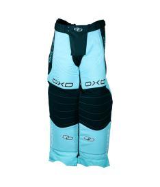 Brankářské florbalové kalhoty OXDOG TOUR GOALIE PANTS tiff blue 150/160