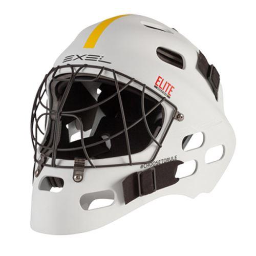 EXEL ELITE HELMET senior/junior white - Brankářské masky