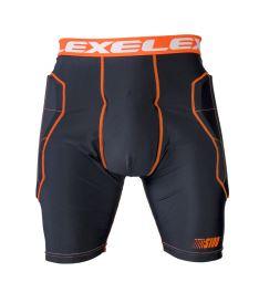 EXEL S100 PROTECTION SHORT black/orange - Chrániče a vesty