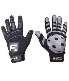 Brankářské florbalové rukavice  FREEZ GLOVES G-180 black SR