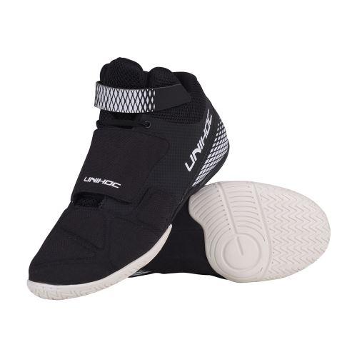 UNIHOC Shoe U4 Goalie black - Obuv