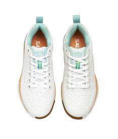 SALMING Eagle Shoe Women White/PaleBlue 4,5 UK - Obuv
