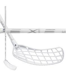 Florbalová hokejka EXEL GRAVITY 2 WHITE 2.9 98 ROUND MB