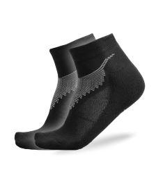 Sportovní ponožky FREEZ ANCLE SOCKS 2-pack black