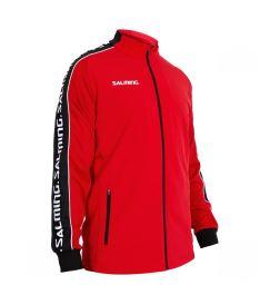 Sportovní bunda SALMING Delta Jacket Red