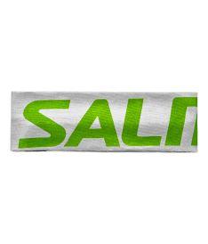 Sportovní čelenka SALMING Headband Green/White