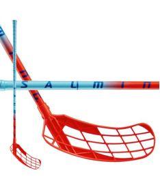 Florbalová hokejka SALMING Matrix 32 Light Blue/Red 87(98)