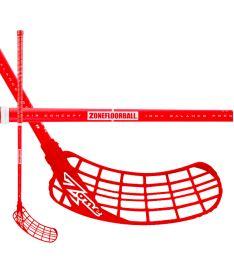 Florbalová hokejka ZONE STICK ZUPER AIR 31 red 87cm