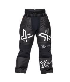 Brankářské florbalové kalhoty OXDOG XGUARD GOALIE PANTS black/white 150/160
