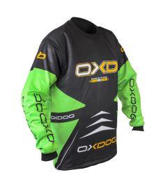 OXDOG VAPOR GOALIE SHIRT junior black/green - Brankářský dres