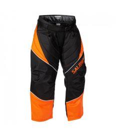 Brankářské florbalové kalhoty SALMING Atlas Goalie Pant JR Orange/Black