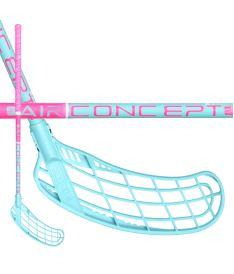 Florbalová hokejka ZONE STICK FORCE AIR JR 35 pink/turquoise 75cm