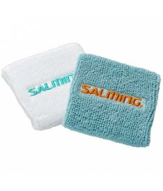 SALMING Wristband Short 2-pack PaleBlue/White