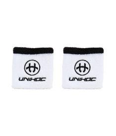 Sportovní potítko UNIHOC WRISTBAND SWEAT 2-pack white